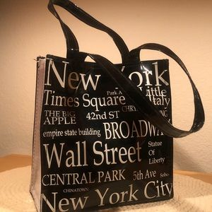 Handbags - Patent leather NYC tote